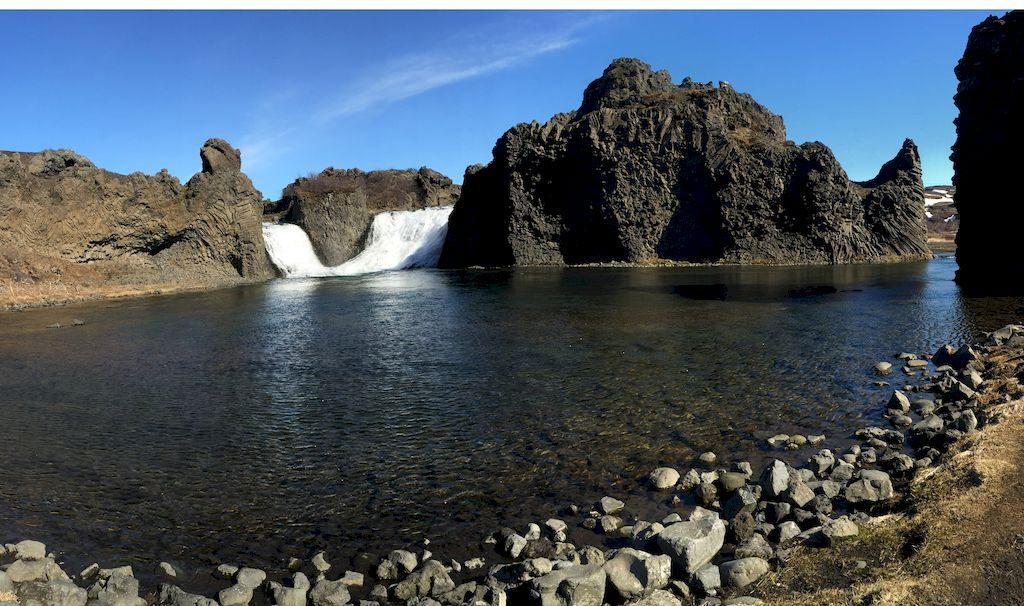 Cascade de Hjalparfoss