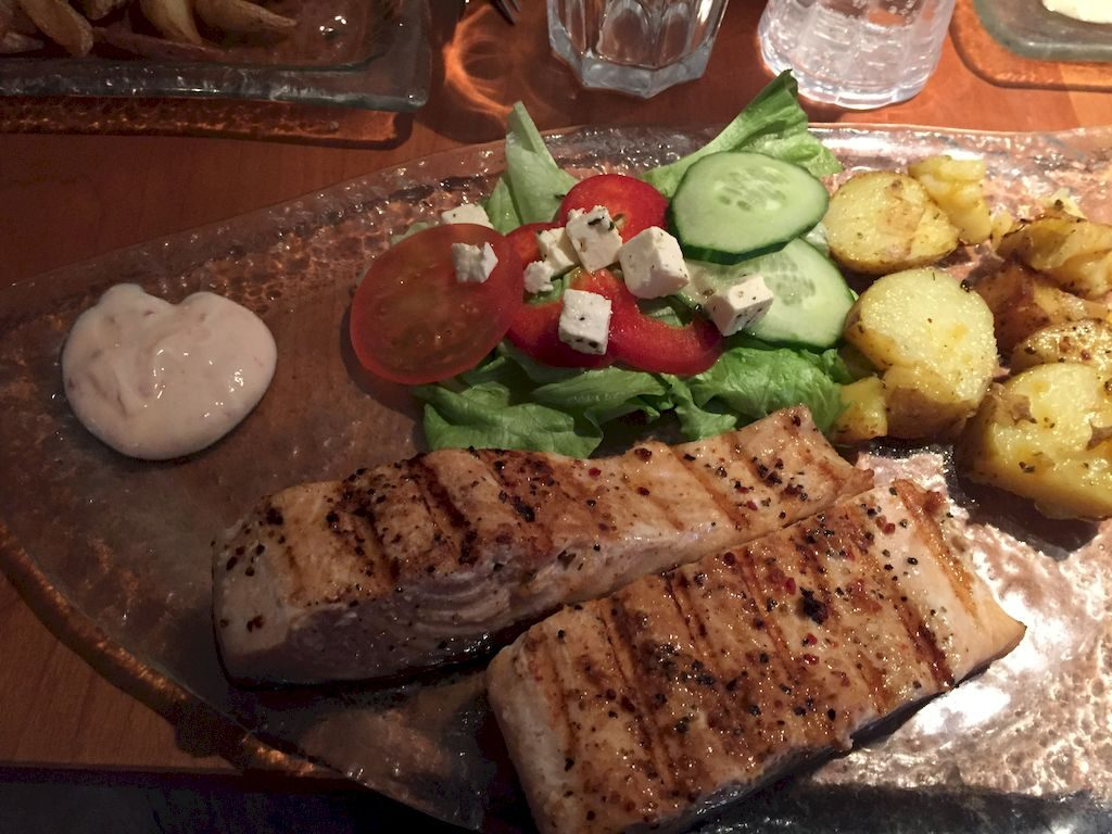Plat de poisson de Halidorskaffi
