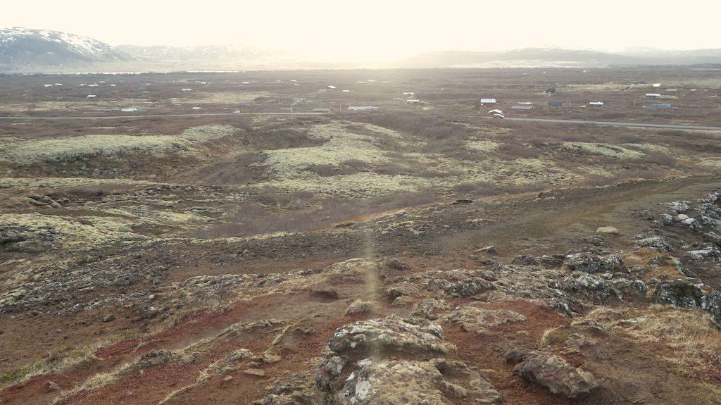 maison autour de kerid krater