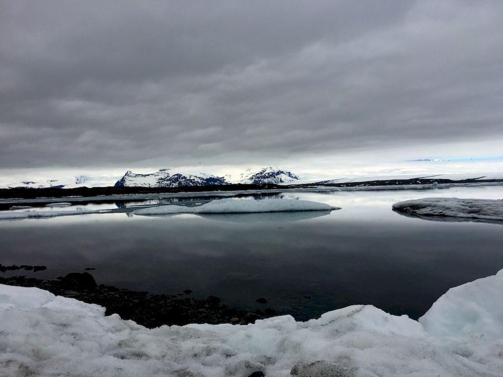 le lac de Jokullsarlon
