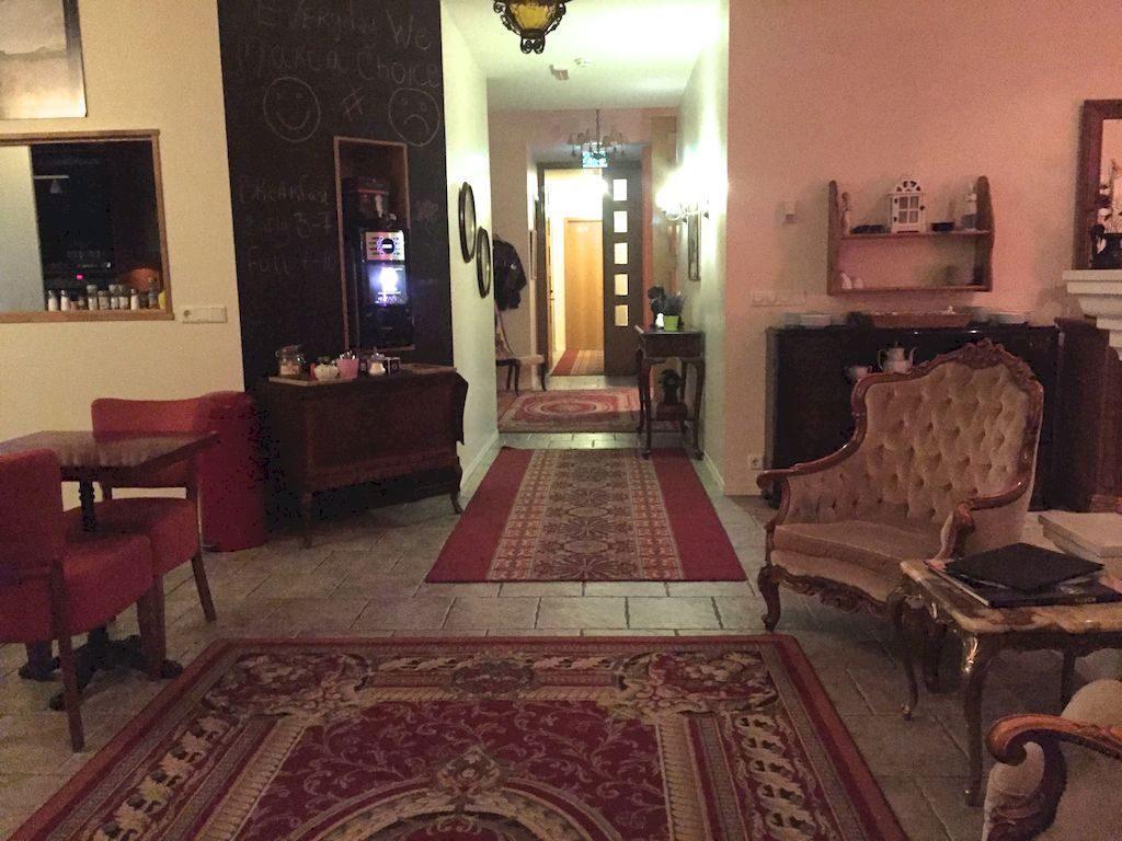 Entrée Hôtel Berg