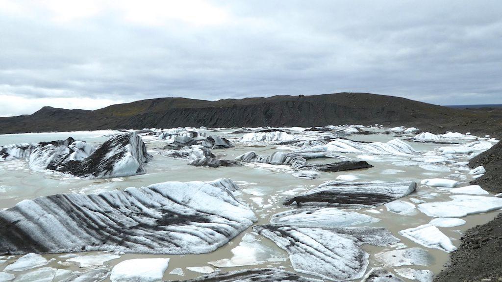 le lac glaciaire