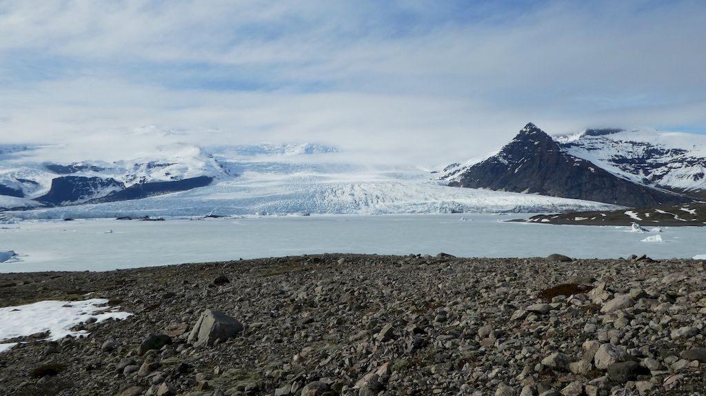 langue glaciaire du Vatnajokull
