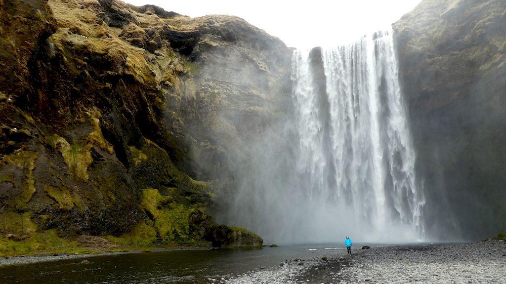 cascade de Skogafoss
