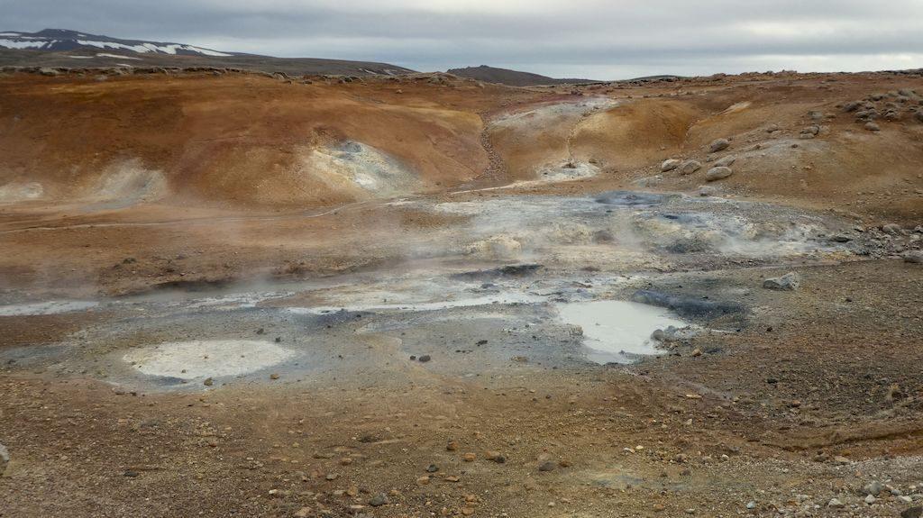 zone de géothermie de Seltun
