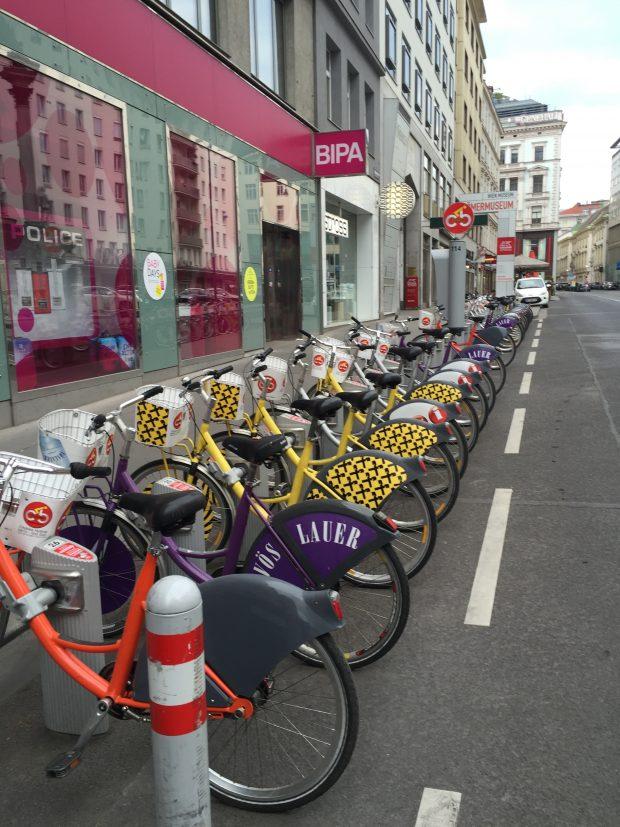 les vélib dans Vienne