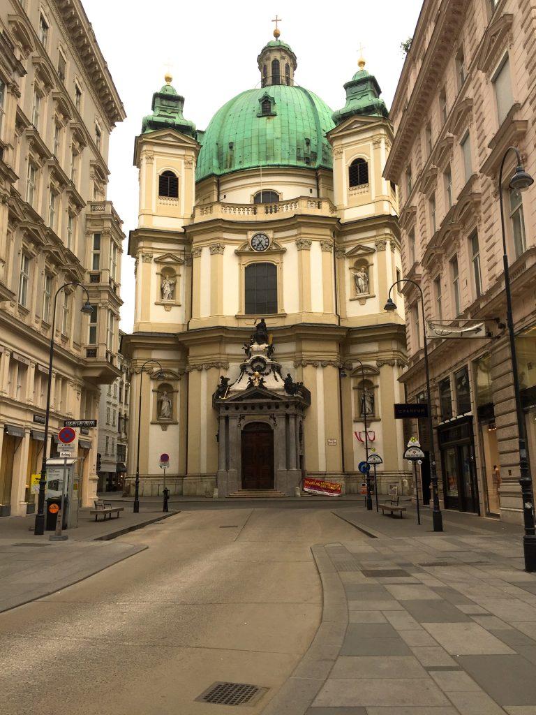Eglise dans le centre de Vienne