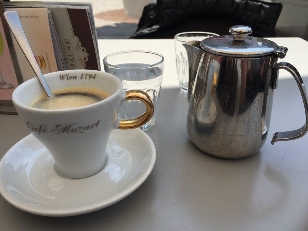 le café Mozart