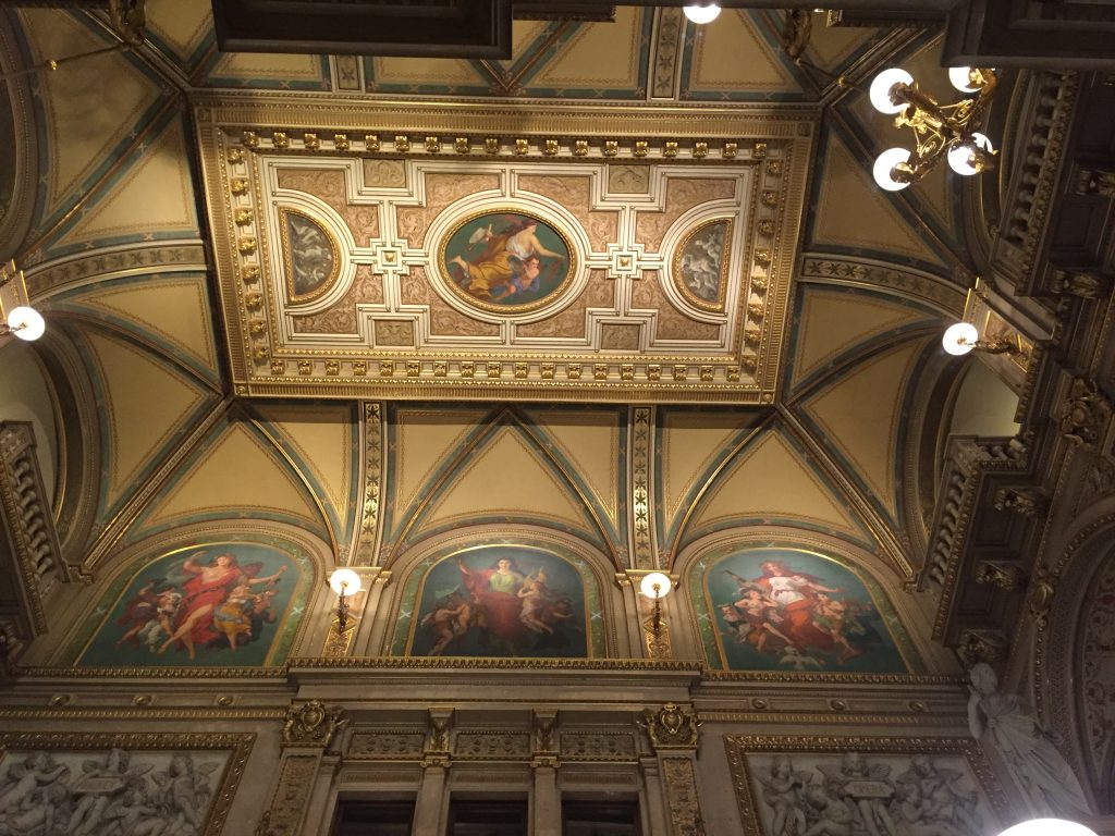 salle de l'opéra Staatsoper