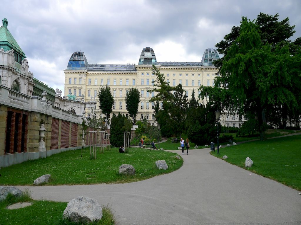 Parc dans Vienne