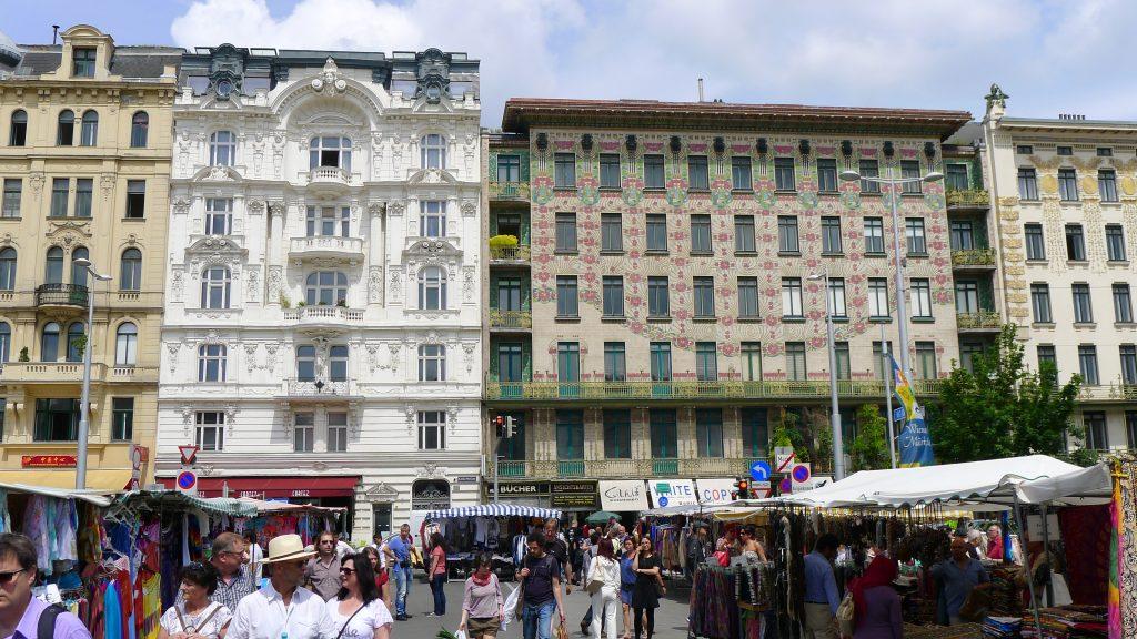 immeubles près du Nachtmarkt