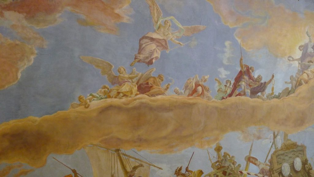 détail du plafond