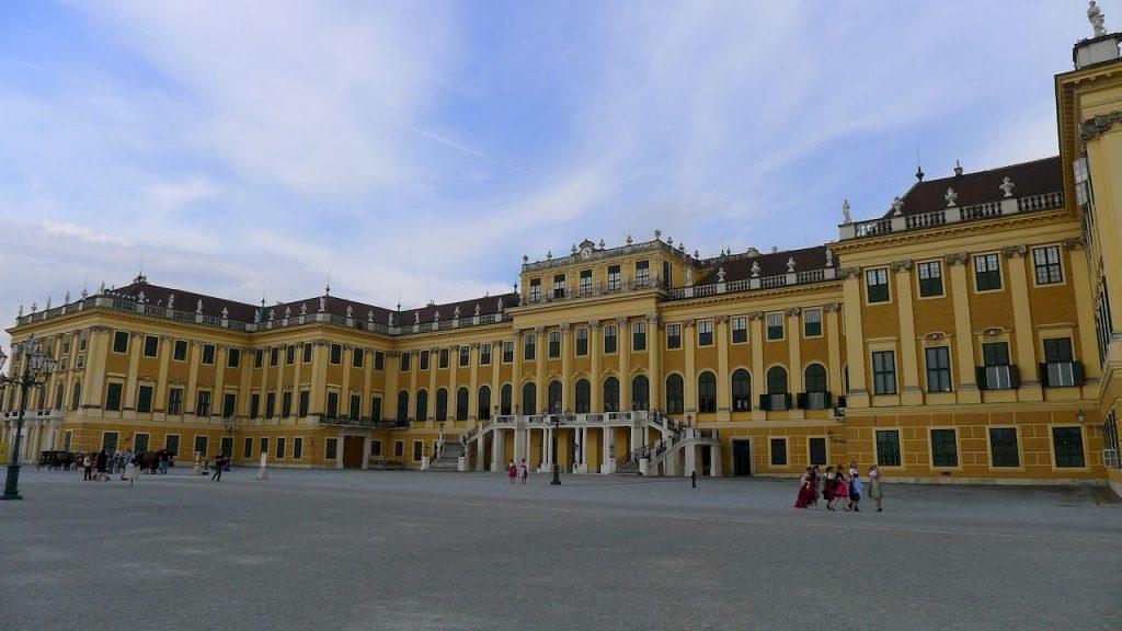 la facade de l'entraide Schonbrunn