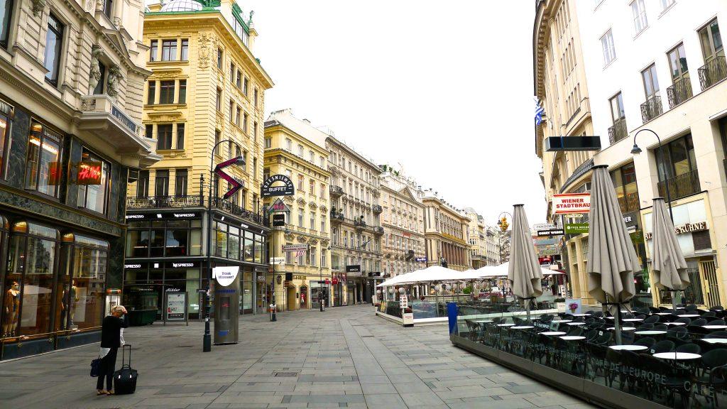 les rues de Vienne