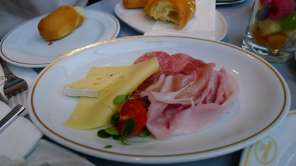 petit déjeuner au Landtmann