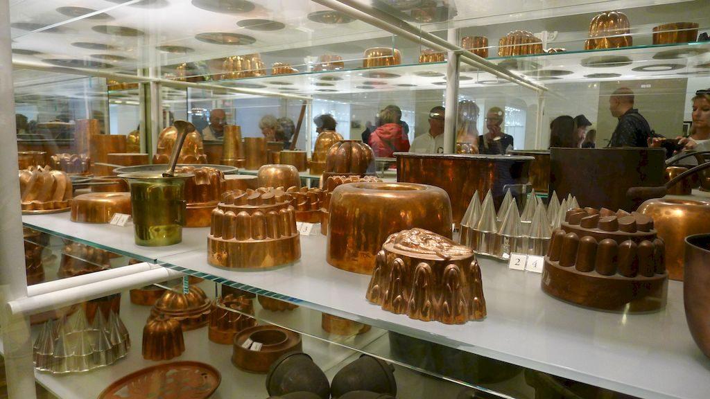 moules à gâteaux cuivre du Hofburg