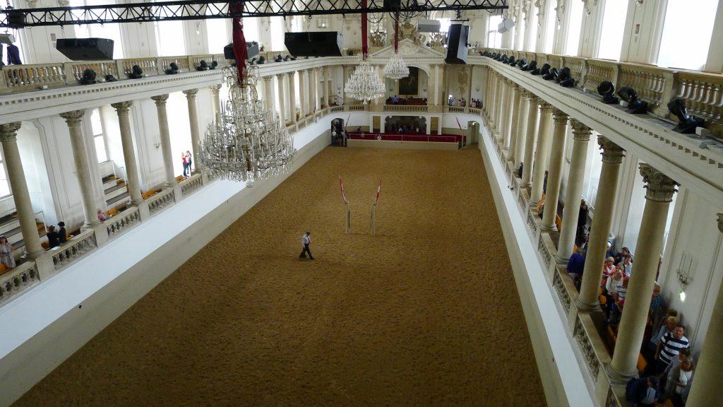 l'école d'équitation espagnole