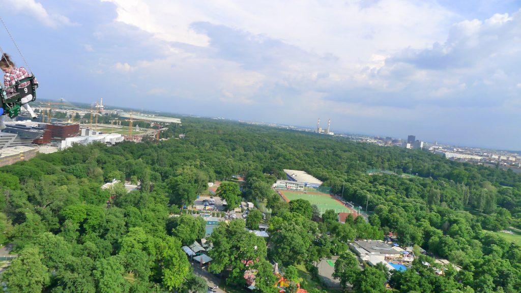 vue du parc du Prater
