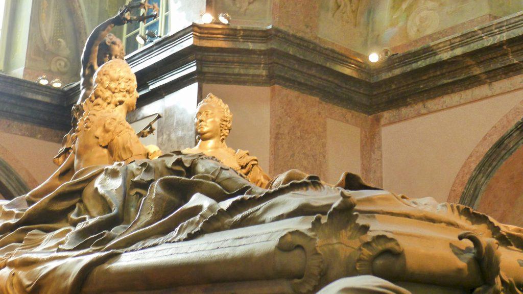 le tombeau de Marie Thérèse d'Autriche