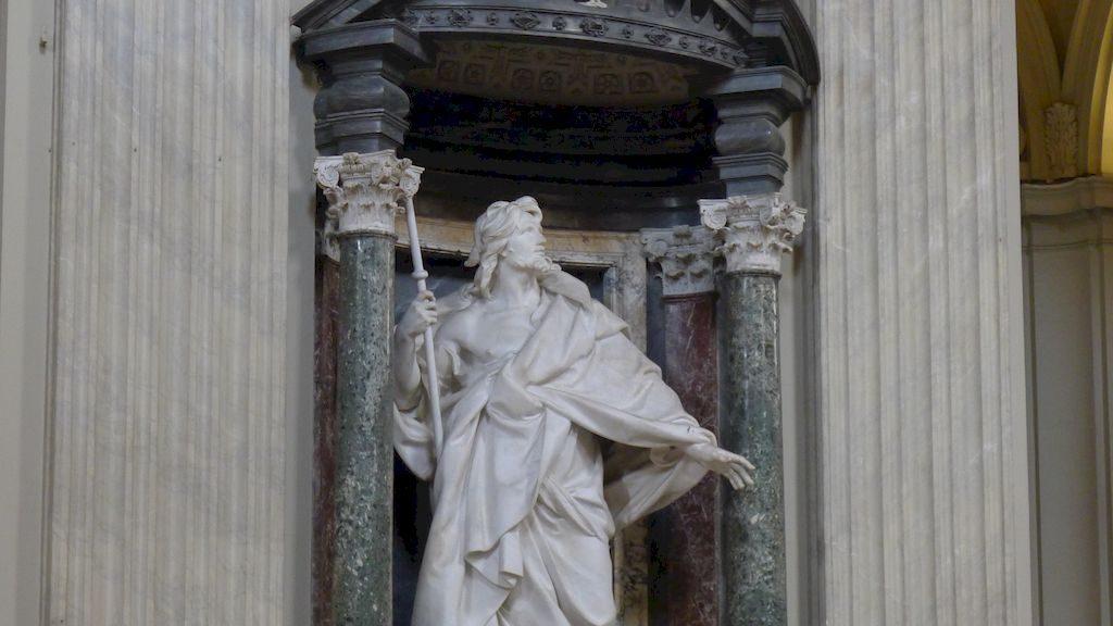 statue de Saint Jacques à Latran