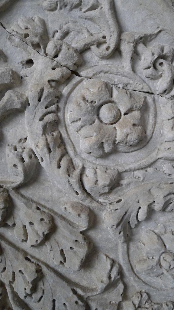 détail de sculpture