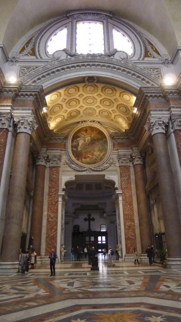 intérieur santa maria degli angeli