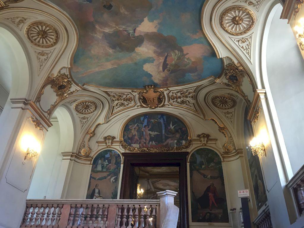 Le grand escalier du Capitole
