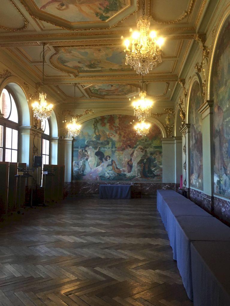 La salle des illustres du Capitole