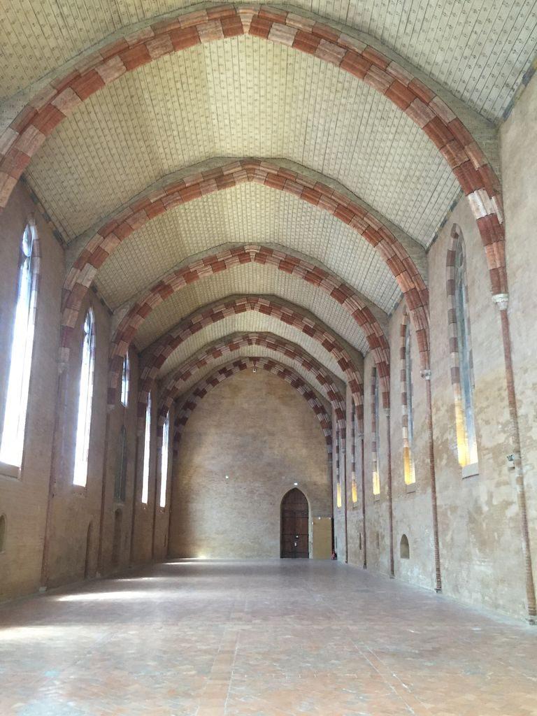 Le réfectoire du couvent des jacobins