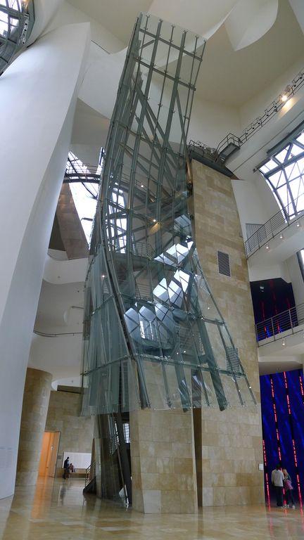 Le Guggenheim intérieur