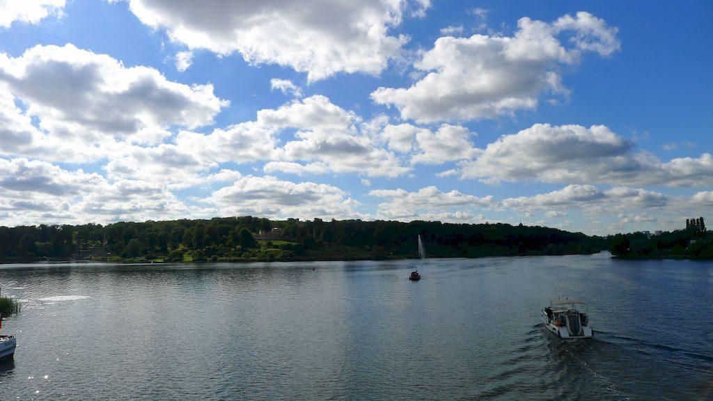 les petits lacs autour