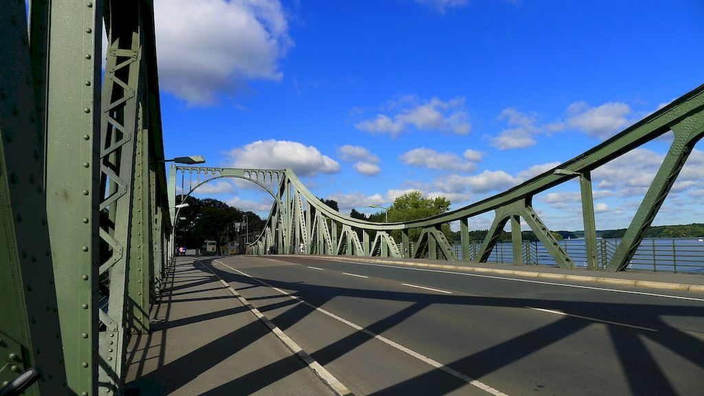 le pont Glienicke vers Potsdam