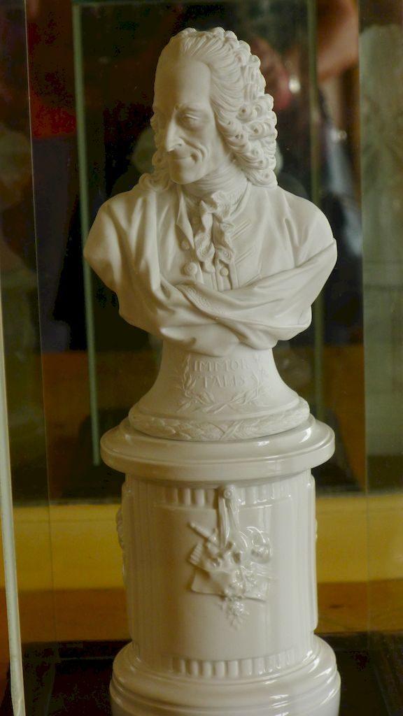 le buste de Voltaire