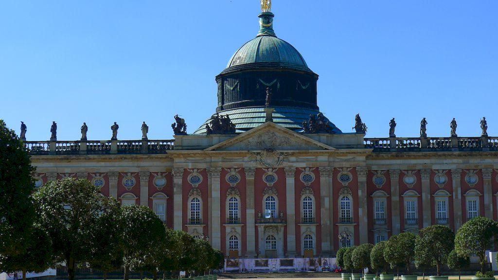 le Neue palais à Potsdam
