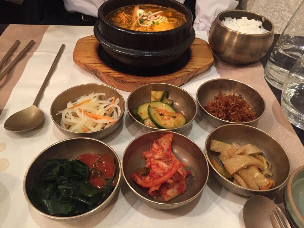 plat typique restaurant coréen Soon