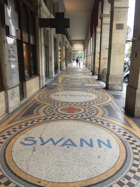Arcades rue de Castiglione