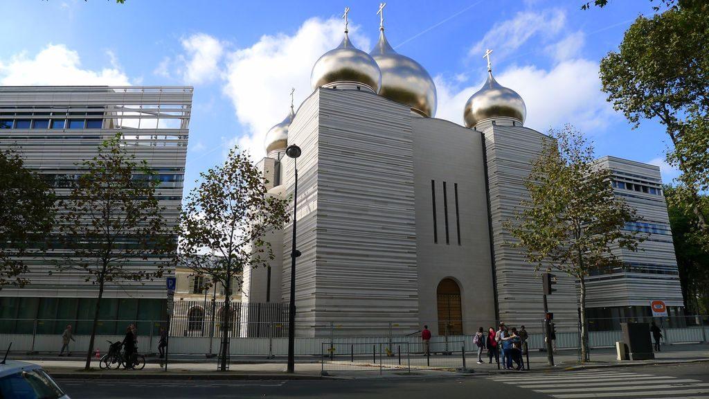 la nouvelle cathédrale orthodoxe