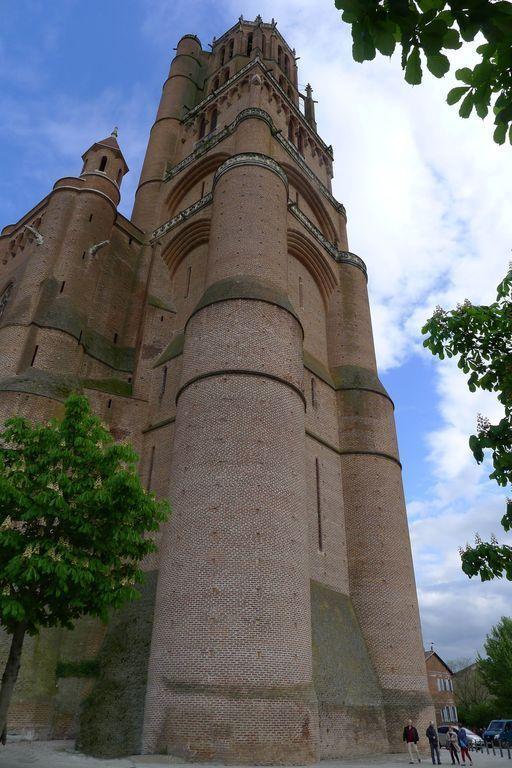 Clocher cathédrale Sainte Cécile