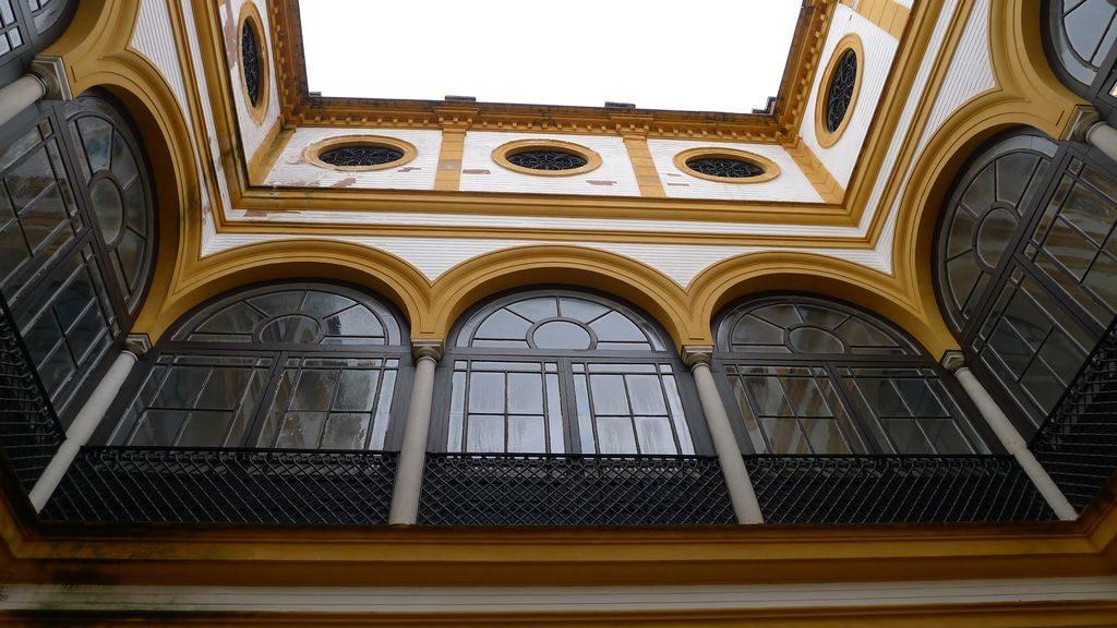 détail des fenêtres de l'Alcazar