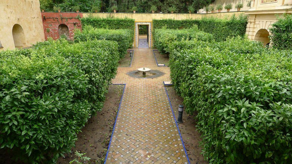 jardin de l'Alcazar