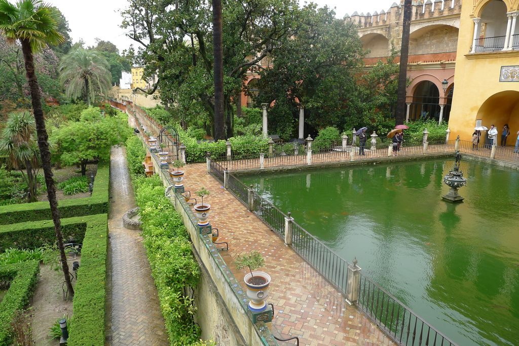 le jardin Alcazar