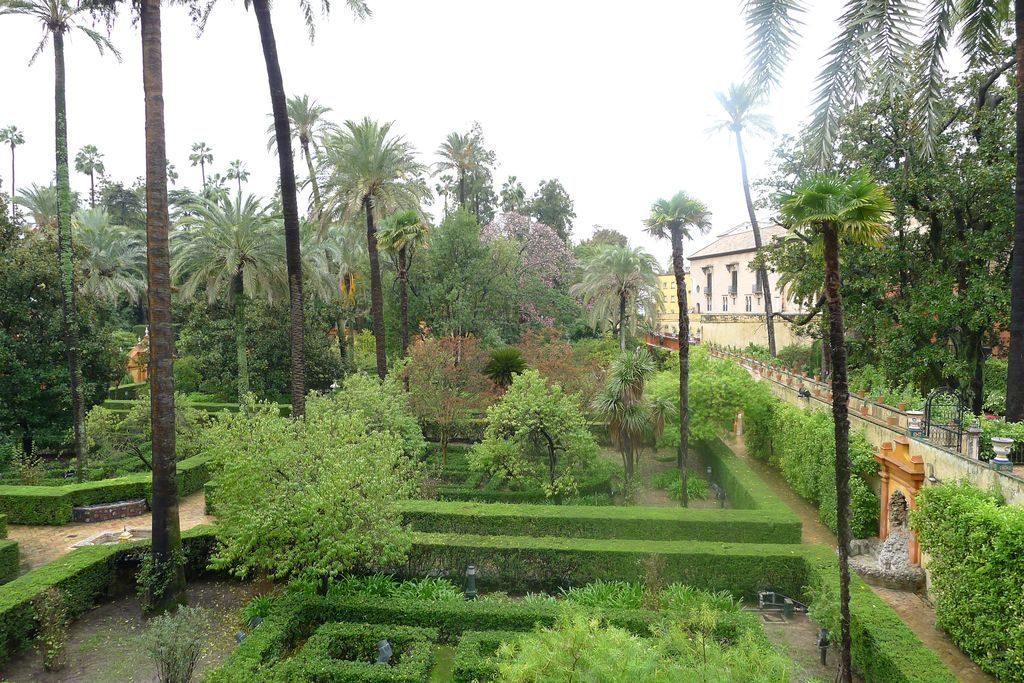 jardin d l'alcazar