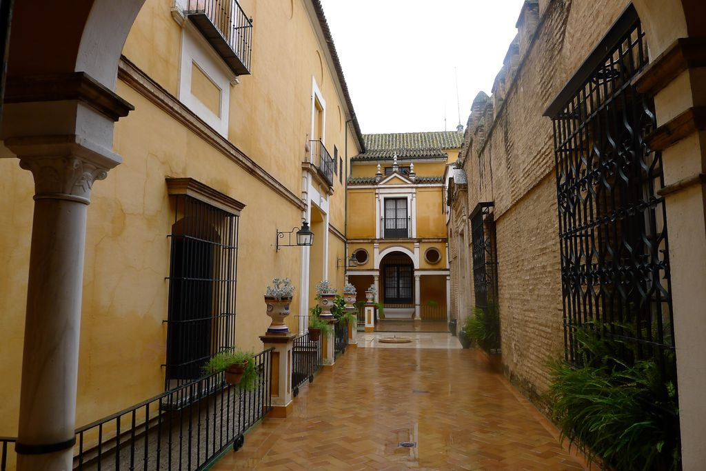 cour intérieure de l'Alcazar