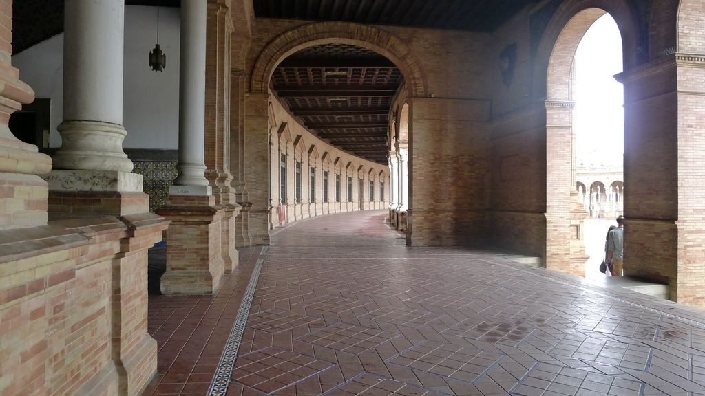 la place d'Espagne- Séville