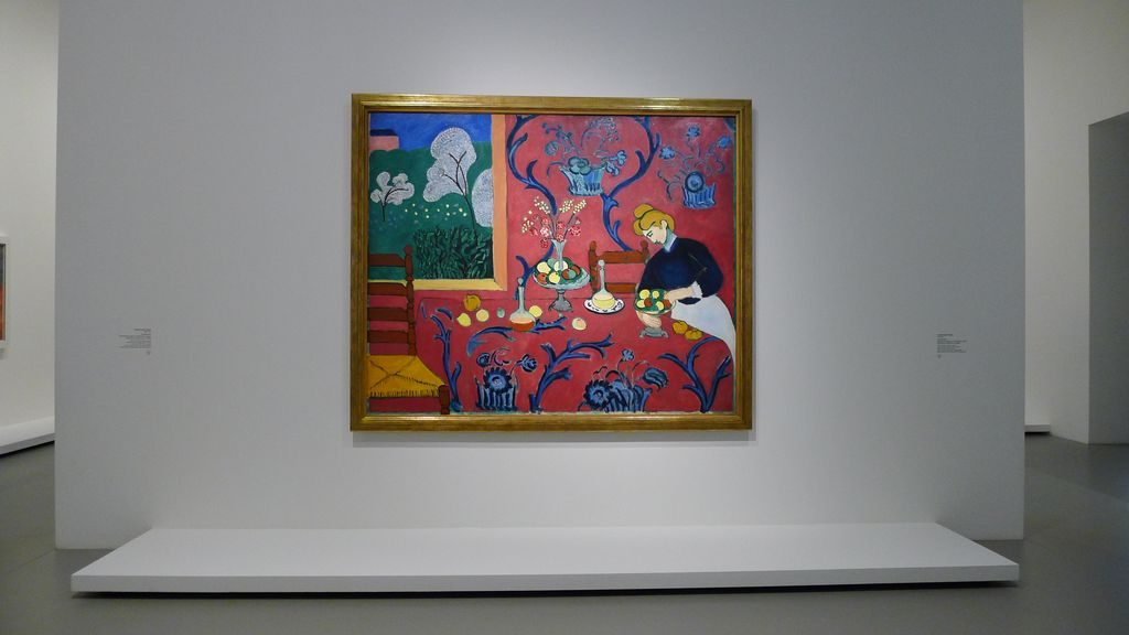 la desserte rouge de Matisse