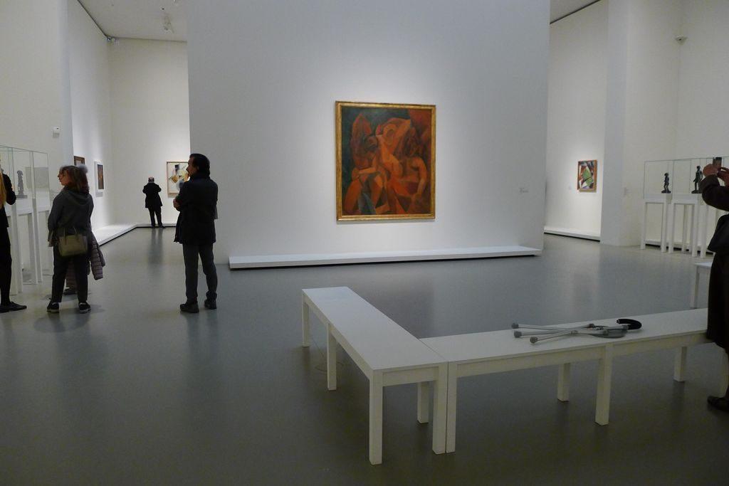 la salle Piccasso de l'exposition Chtchoukine à la fondation Vuitton