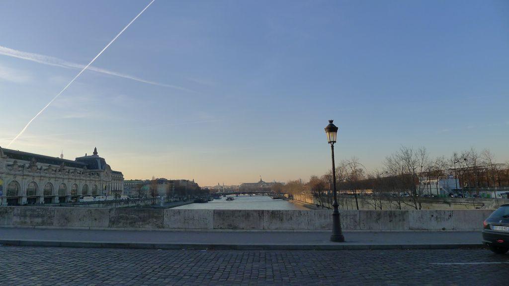 pont de Paris retour vers Montparnasse
