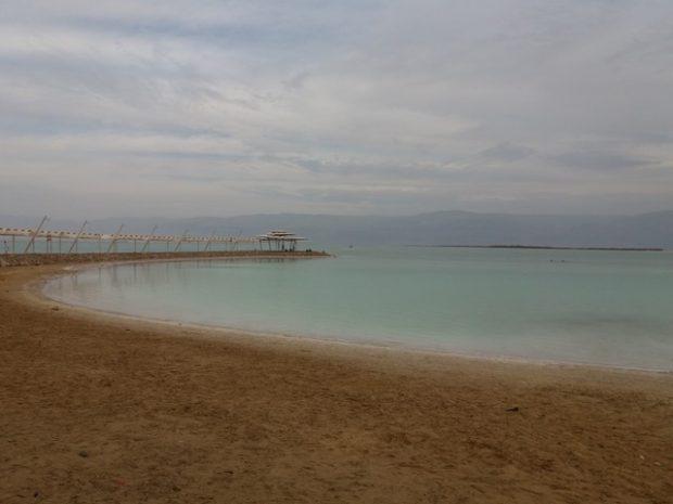 Du côté d'Ein Gedi. L'atmosphère inquiétante de la Mer Morte.