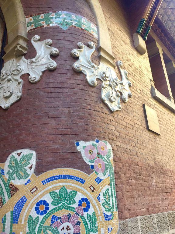détail Le palais de la musique catalane