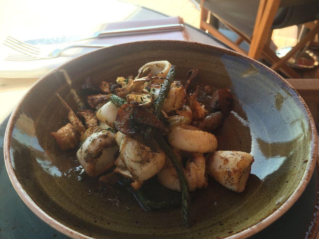 Calamars du restaurant El Magatzem